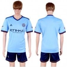 2017-2018 Club Men New York City Home Suits Soccer Jersey