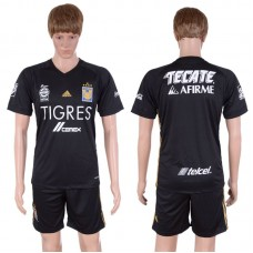 2017-2018 Club Men Nuevo Leon Autonomous University Of Tiger Second Away Suits Soccer Jersey