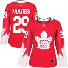 2017 NHL Toronto Maple Leafs women 29 Mike Palmateer red jersey