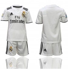 2018-2019 youth club Real Madrid home  soccer jerseys