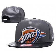 2018 NBA Oklahoma City Thunder Snapback hat GSMY818