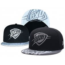2018 NBA Oklahoma City Thunder Snapback hat GSMY0903