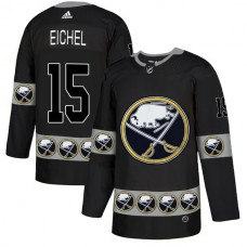 2019 Men Buffalo Sabres 15 Eichel Black Adidas NHL jerseys