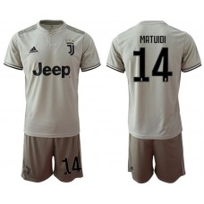 Men 2018-2019 club Juventus away 14 grey Soccer Jerseys
