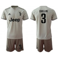 Men 2018-2019 club Juventus away 3 grey Soccer Jerseys