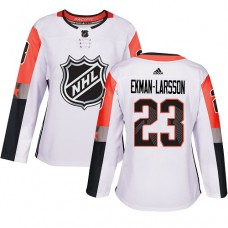 Adidas Arizona Coyotes 23 Oliver Ekman-Larsson White 2018 All-Star Pacific Division Authentic Women Stitched NHL Jersey