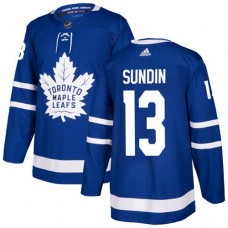 Adidas Toronto Maple Leafs 13 Mats Sundin Blue Home Authentic Stitched Youth NHL Jersey