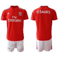 Men 2018-2019 club SL Benfica home Blank red Soccer Jerseys