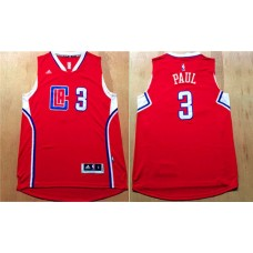 Men Los Angeles Clippers 3 Paul Red Adidas NBA Jerseys