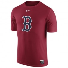 2016 MLB Boston Red Sox Nike Authentic Collection Legend Logo 1.5 Performance T-Shirt - Red