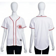 2016 MLB Cincinnati Reds Blank white women jerseys