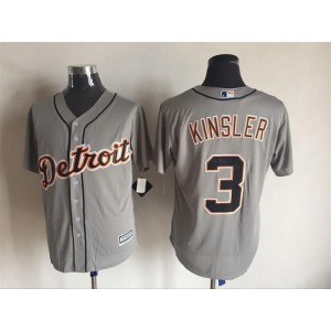 2016 MLB FLEXBASE Detroit Tigers 3 Kinsler grey jerseys