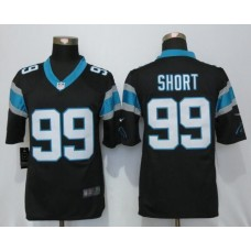 2016 Carolina Panthers 99 Short Black Nike Limited Jerseys