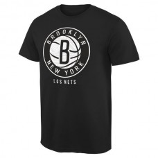 2016 NBA Brooklyn Nets Noches Enebea T-Shirt - Black