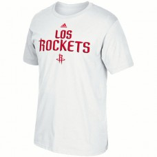 2016 NBA Houston Rockets adidas Noches Ene-Be-A T-Shirt - White