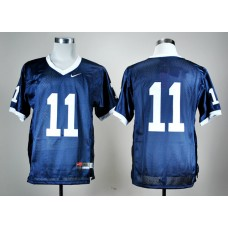 NCAA Penn State Nittany Lions 11 Navy Blue Nike College Football Jersey