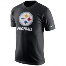 2016 NFL Pittsburgh Steelers Nike Facility T-Shirt - Black
