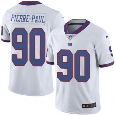 2016 Nike New York Giants 90 Jason Pierre-Paul White NFL Limited Rush Jersey