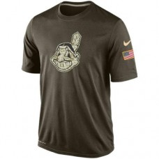 2016 Mens Cleveland Indians Salute To Service Nike Dri-FIT T-Shirt