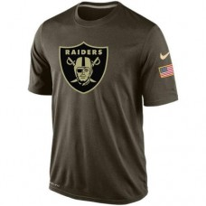 2016 Mens Oakland Raiders Salute To Service Nike Dri-FIT T-Shirt