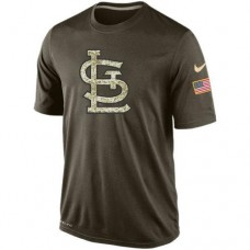 2016 Mens St.Louis Cardinals Salute To Service Nike Dri-FIT T-Shirt