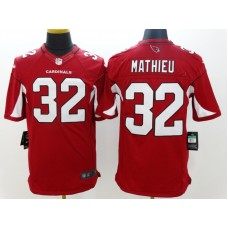 Arizona Cardicals 32 Mathieu Red Nike Limited Jerseys