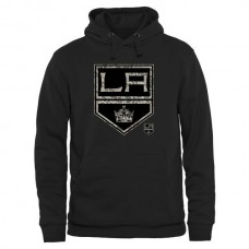 2016 NHL Mens Los Angeles Kings Black Rink Warrior Pullover Hoodie