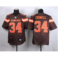 Cleveland Browns 34 crowell brow New 2015 Nike Elite Jersey